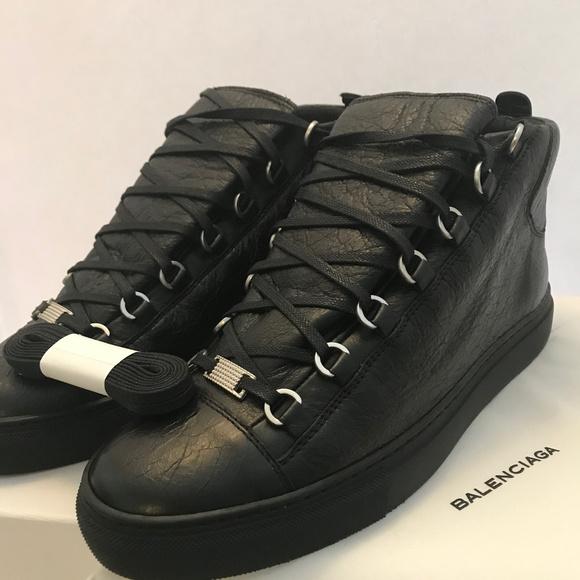 9e0ba45cd5d Balenciaga Shoes | Arena High Top Black | Poshmark